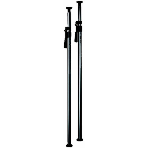 Manfrotto 432-3.7BSET Deluxe Short Autopole 2 , Black - Set of Two