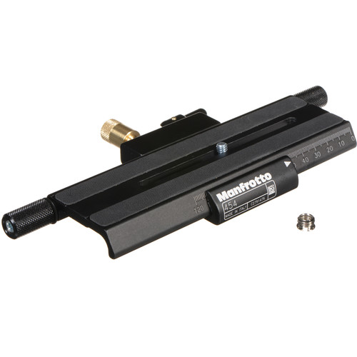 Manfrotto 454 Micrometric Positioning Sliding Plate