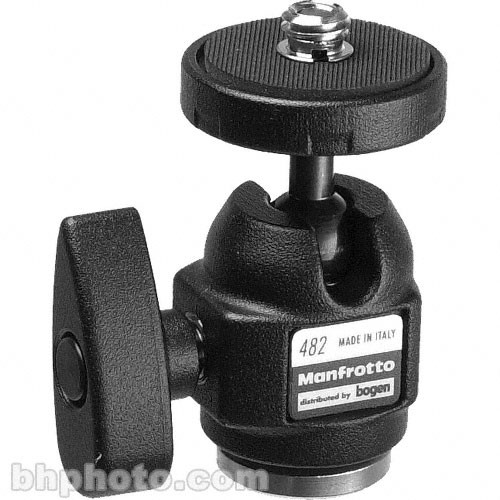 Manfrotto 482 Micro Ball Head - Supports 4.4 lb (2 kg)