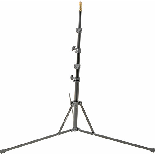 Manfrotto 5001B Nano Black Light Stand - 6.2' (1.9m)