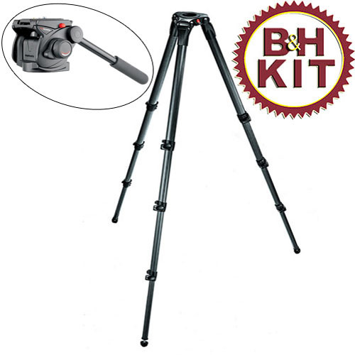Manfrotto 503HDV,536K 536 Tripod 503 HDV Head Kit