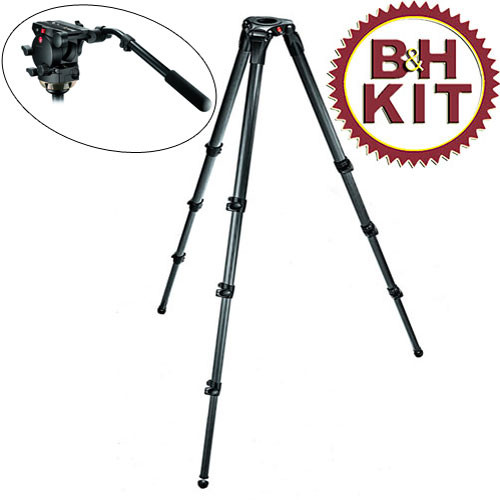 Manfrotto 526,536K 536 Tripod 526 Head and Bag