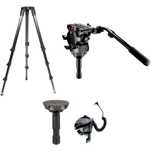 Manfrotto 526 Pro Video Tripod Kit (Canon/Sony/Panasonic)