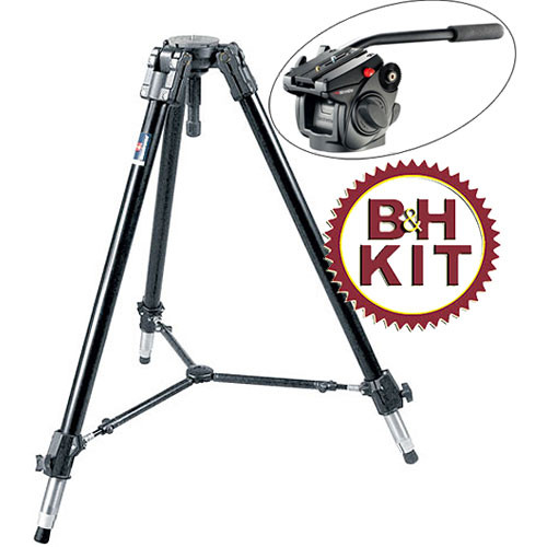 Manfrotto 528XB Heavy Duty 1-Stage Tripod with 501HDV Head