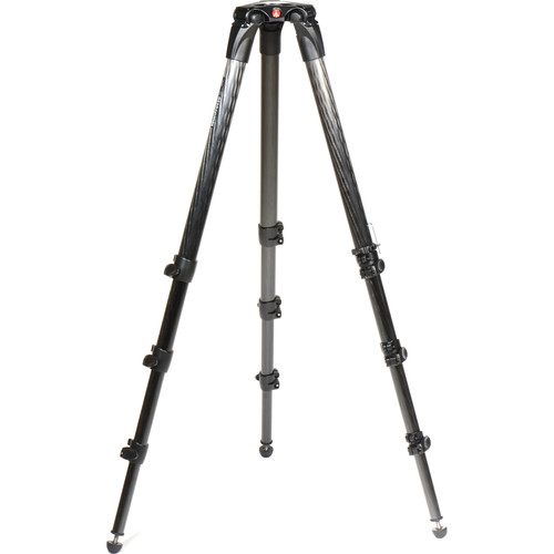 Manfrotto 536 Carbon Fiber Video Tripod