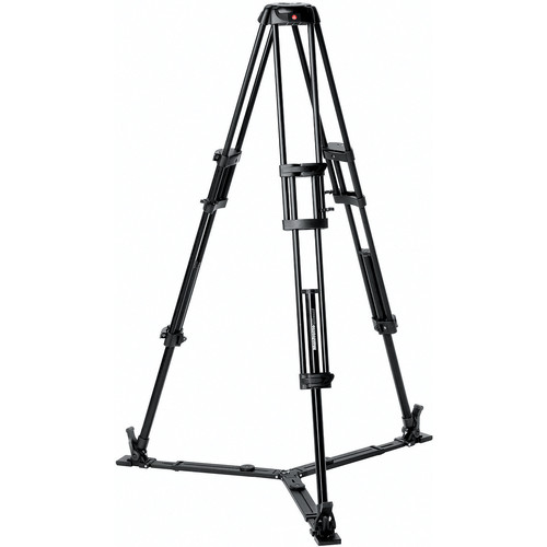 Manfrotto 546GB Pro Video Tripod with Ground-Level Spreader