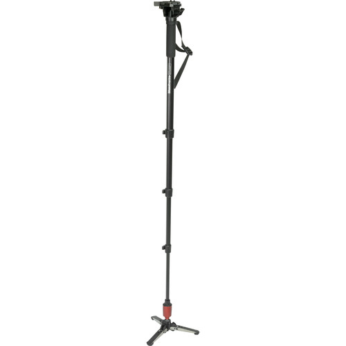 Manfrotto 560B-1 Aluminum Fluid Video Monopod RC2 Quick Release