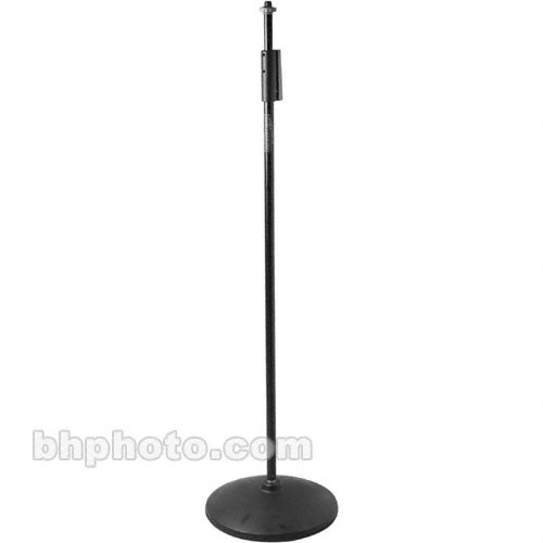 Manfrotto Squeeze-Release Microphone Stand with Base - (Black)