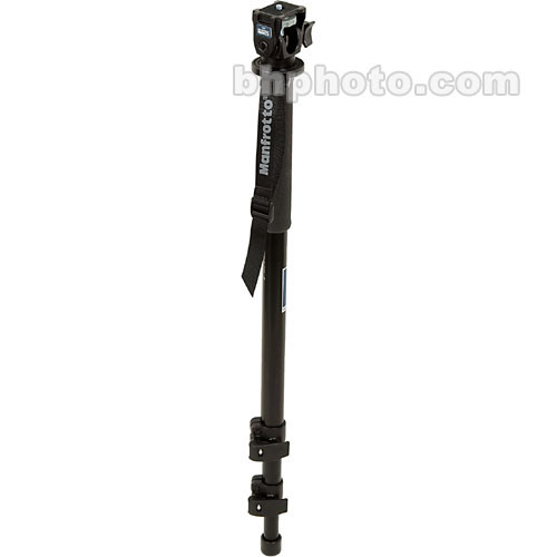 Manfrotto 679B 3 Section Monopod with 234 Swivel/Tilt Head- Supports 5.5 lb (2.5kg)