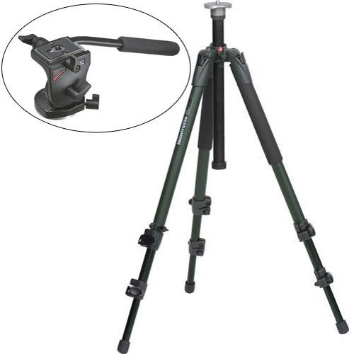 Manfrotto 700RC2,055XV View Outdoor Tripod System (Green)