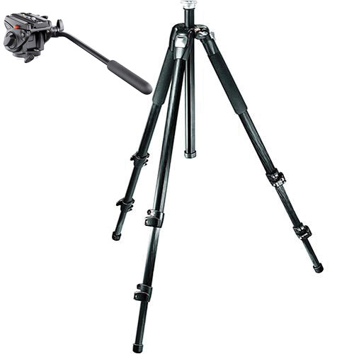 Manfrotto 055CXV3 Tripod with 701HDV Head Kit