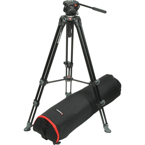 Manfrotto 701HDV Head With MVT502AM Tripod System