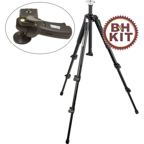 Manfrotto BO190XB322RC190XB Tripod with 322RC2 Grip-Action Ball Head