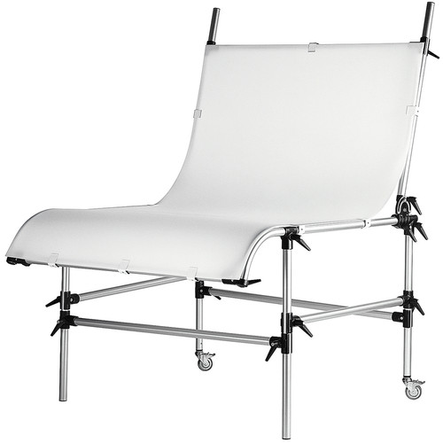"""Manfrotto Large Still Life Shooting Table with 79 x 49"""" Plexiglass Panel"""