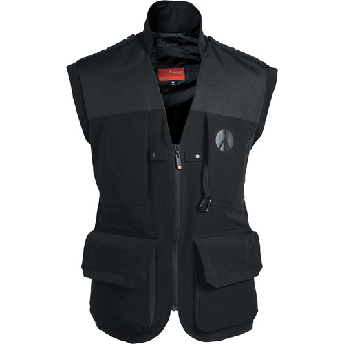 Manfrotto Lino Pro Photo Vest (Men's XX-Large, Black)
