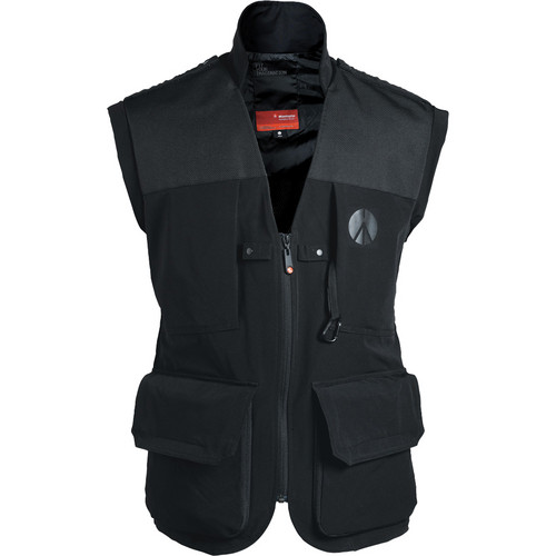 Manfrotto Lino Pro Photo Vest (Men's Medium, Black)