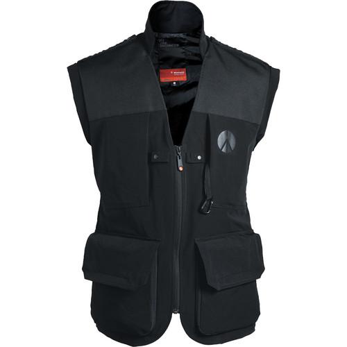 Manfrotto Lino Pro Photo Vest (Men's Medium, Black)