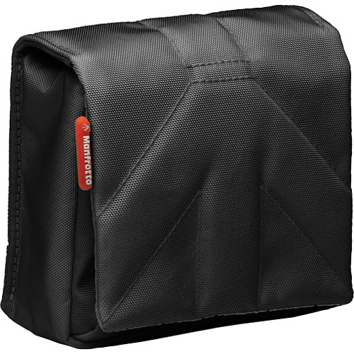 Manfrotto Stile Collection: Nano IV Camera Pouch (Black)