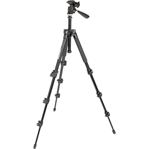 Manfrotto MK293A4-A4RC1 Aluminum Tripod with 3-Way Head