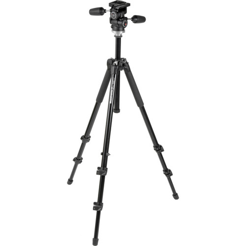 Manfrotto 294 Aluminum Tripod with 804RC2 3-Way Head