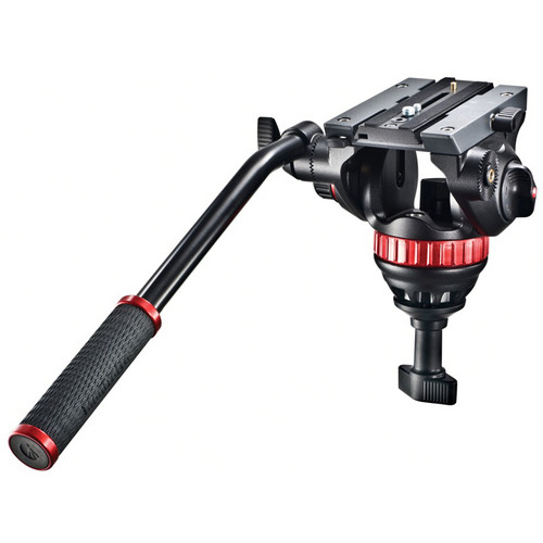 Manfrotto 502A Pro Video Head with 75mm Half Ball