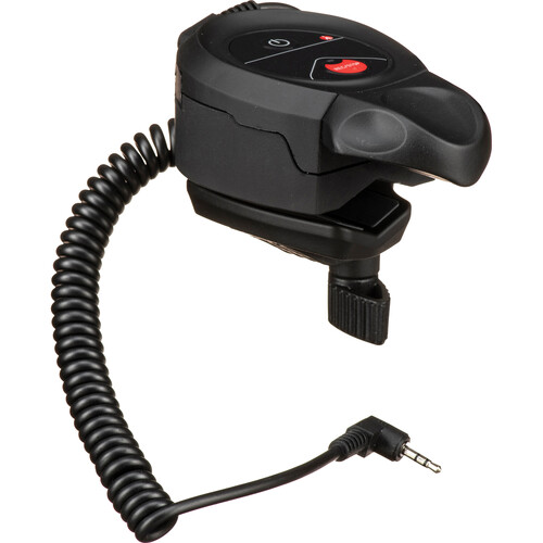 Manfrotto Clamp-On Zoom Remote Control for LANC and Panasonic Cameras