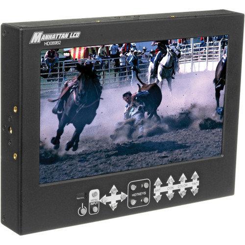 """Manhattan LCD 8.9"""" HD Pro Monitor with Canon Battery Plate and 3G SDI"""