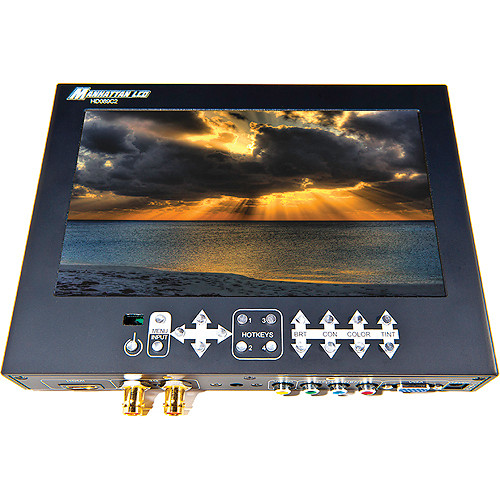 "Manhattan LCD 8.9"" HD Professional LCD Monitor with 3G SDI"