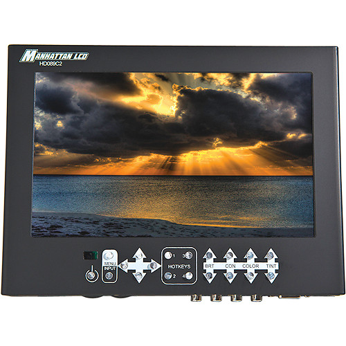 "Manhattan LCD 8.9"" HD Professional LCD Monitor with Sony Battery Plate"
