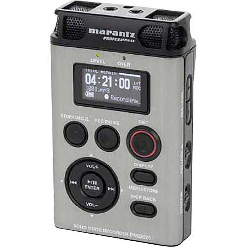 Marantz PMD620 Professional Handheld Digital Audio Recorder