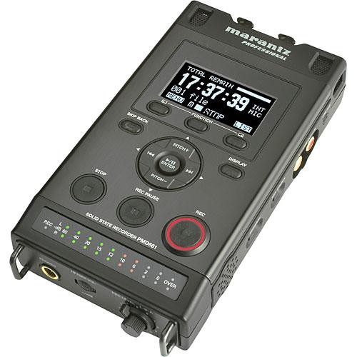 Marantz Professional PMD661 Professional Portable Flash Field Recorder