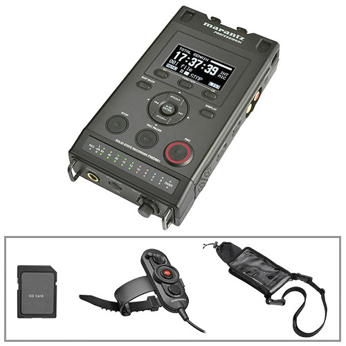 Marantz Professional PMD661 Professional Portable Flash Field Recorder Kit