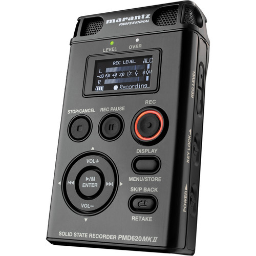Marantz Professional PMD620 MKII Portable Stereo Flash Recorder