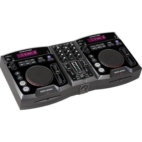 Marathon DCM-6000 Professional CD/SD/HD/USB Mix Station