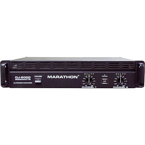 Marathon DJ-6000 Stereo Power Amplifier (900W/Channel @ 8 Ohms)