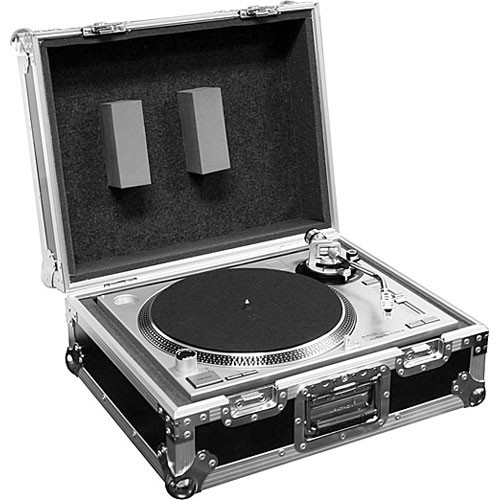 Marathon MA-1200E Flight Road Economy Turntable Case (Black)