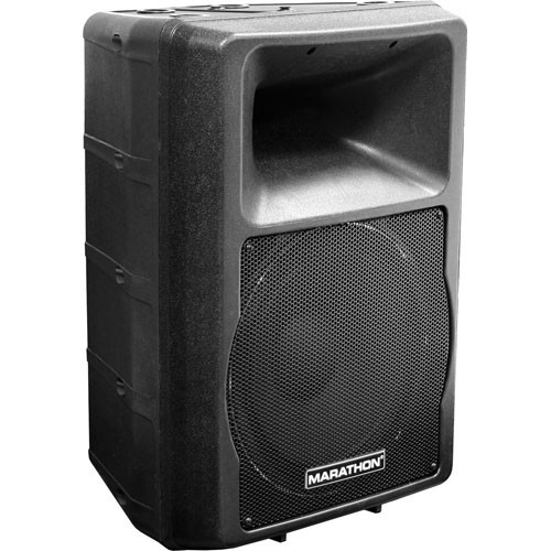 "Marathon MA-12P 600W 12"" Active 2-Way Loudspeaker"