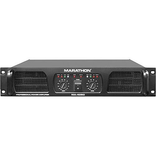 Marathon MA-4050 Stereo Power Amplifier (800W/Channel @ 8 Ohms)