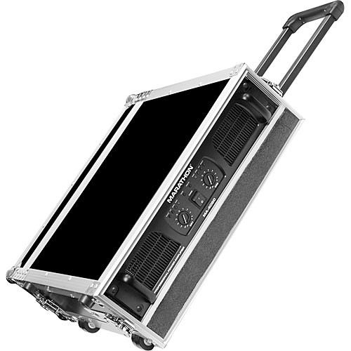 Marathon MA-4UADHW  Flight Road 4U Deluxe Amplifier Rack Case