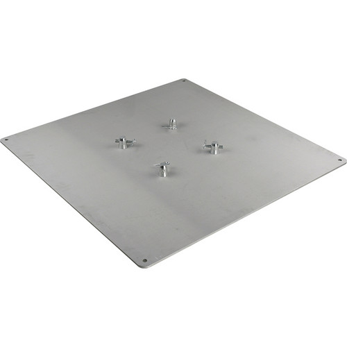 Marathon 3x3' Aluminum Base Plate for Square Truss