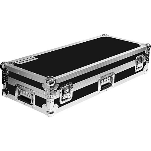 Marathon MA-CD150W Flight Road Deluxe CD Case with Wheels (Black)