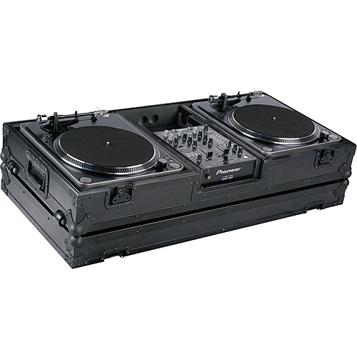 Marathon MA-DJ10WBLK-BATTLE  Flight Road Coffin Case (Black)