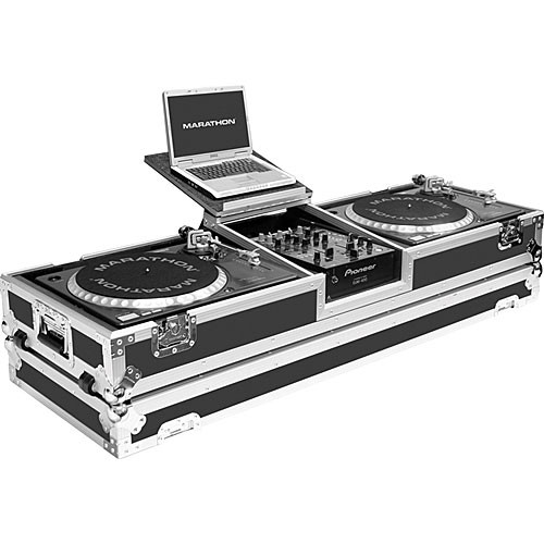 Marathon MA-DJ10WLT-Standard Flight Road Coffin Case