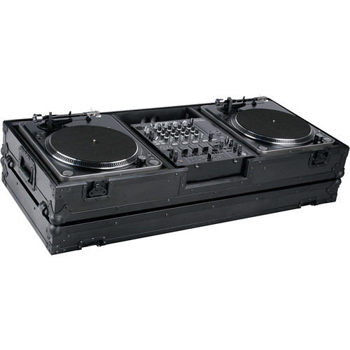 Marathon MA-DJ12WBLK-BATTLE         Flight Road Coffin Case (Black)