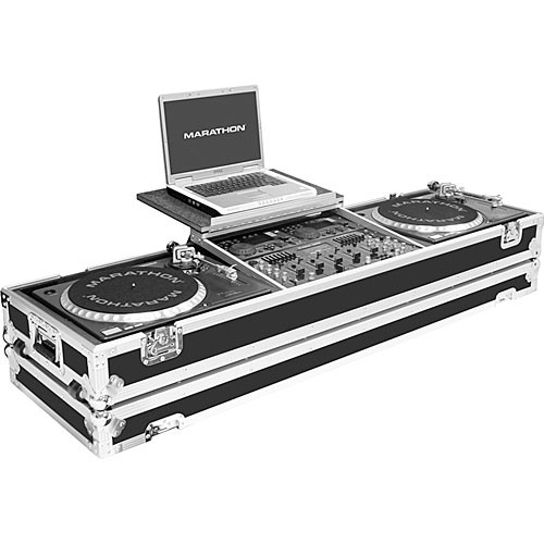 Marathon MA-DJ19WLT-Standard Flight Road Coffin Case