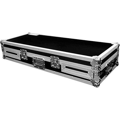 Marathon MA-DJCD19W Flight Road Coffin Case (Black and Chrome)