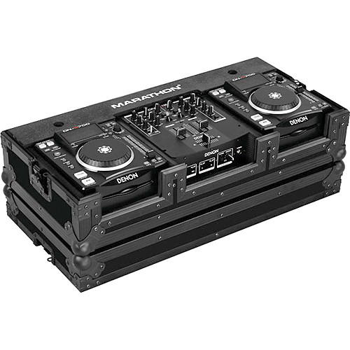 Marathon MA-DNSX1200BLK Flight Road CD Player Case (Black)