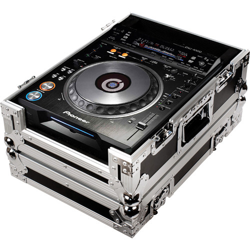Marathon MA-DVJ Case for Pioneer DVJ1, DVJ1000 CD Players (Black/Chrome)