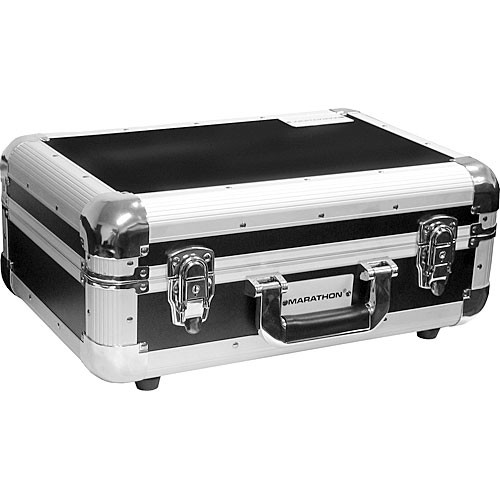 Marathon MA-ECD3 E Series Road Case for CDs and Accessories (Black)