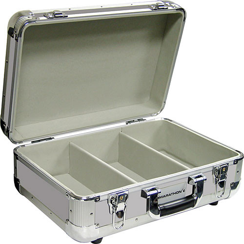 Marathon MA-ECD3 E Series Road Case for CDs and Accessories (Silver)